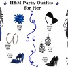 H&M party outfits for her